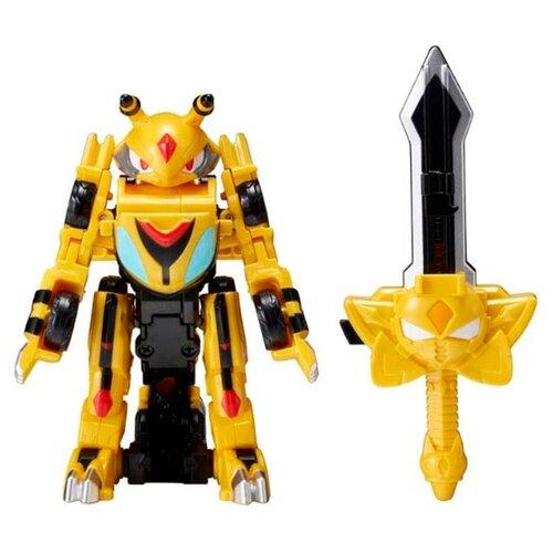 Купить Трансформер YOUNG TOYS Monkart Битроид Васпер 330009 желтый, Роботы и трансформеры