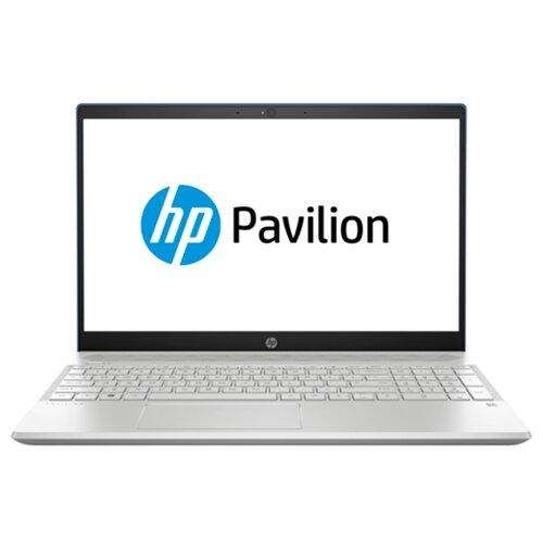 Ноутбук HP PAVILION 15-cs0000 (4JU88EA, PAVILION 15-cs0029ur), насыщенный синий/серебристый