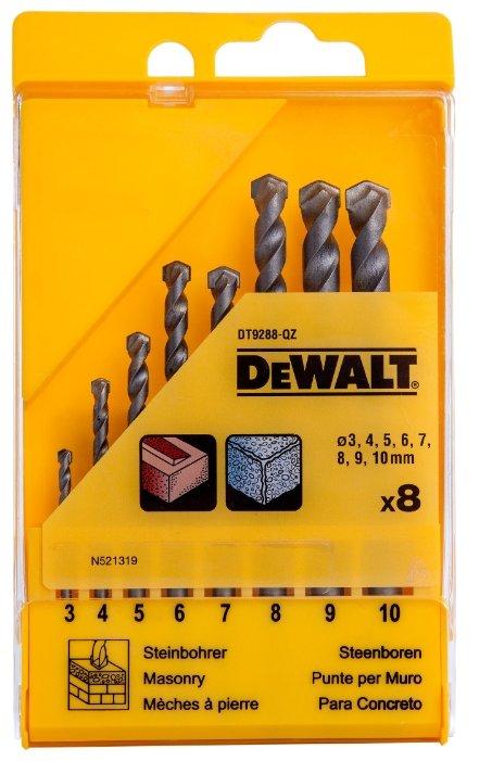 Набор сверл DeWALT DT9288 QZ, 8 шт.