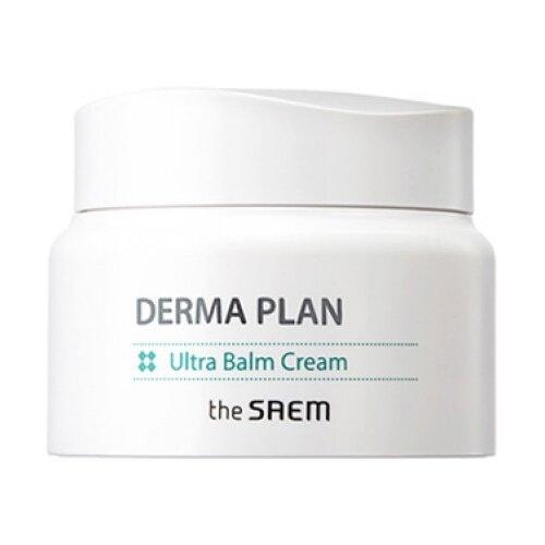 The Saem Derma Plan Ultra Balm Cream Крем-бальзам для чувствительной кожи лица, 60 мл крем для лица успокаивающий the saem derma plan green calming cream 70 мл