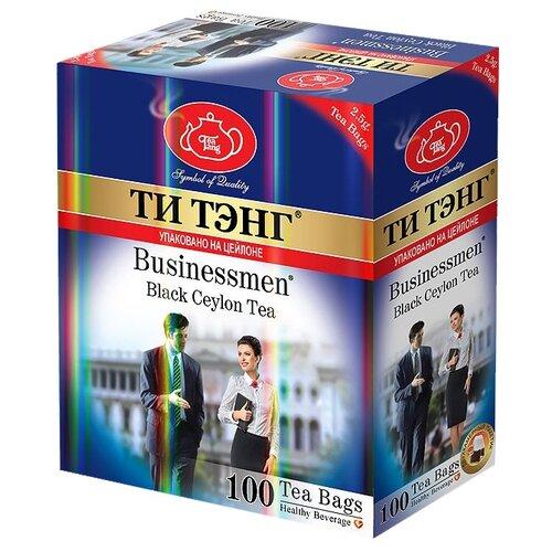 Чай черный Ти Тэнг Bisnessmen в пакетиках, 100 шт.Чай<br>