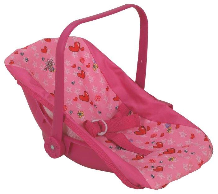 Переноска Buggy Boom Loona 8780-1 светло-розовый с сердечками