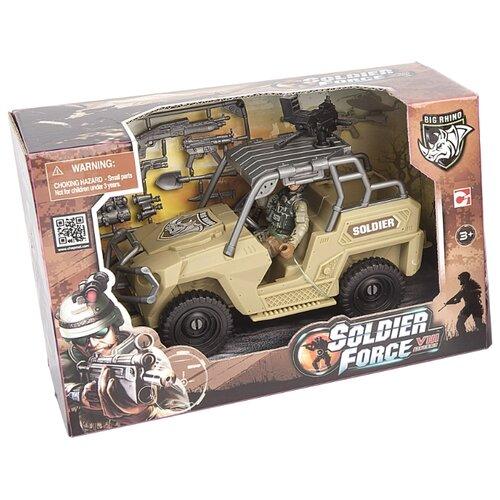 Купить Набор фигурок Chap Mei Soldier Force 521064-2, Солдатики