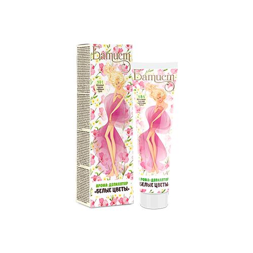 Батист Арома-депилятор Белые цветы 100 мл шампуни сухие батист