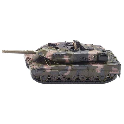Купить Танк Siku Leopard II A6 (1867) 1:87 15.6 см зеленый/бежевый, Машинки и техника