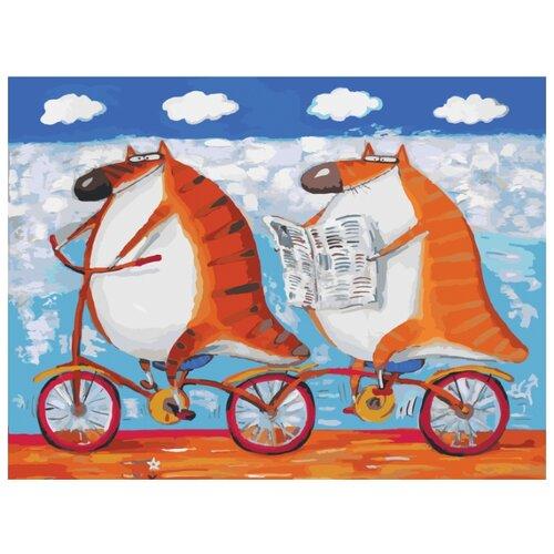 Купить Белоснежка Картина по номерам Вояж 30х40 см (054-AS), Картины по номерам и контурам