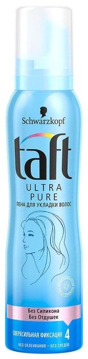 Taft Ultra Pure пена Сверхсильная фиксация