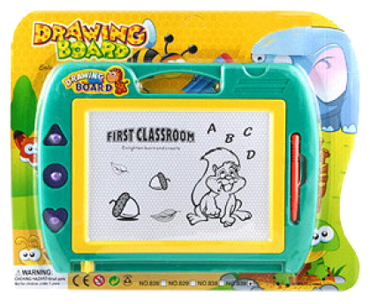 Доска для рисования детская Shenzhen Toys First Classroom с карандашом (839)