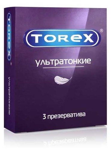 Презервативы TOREX Ультратонкие