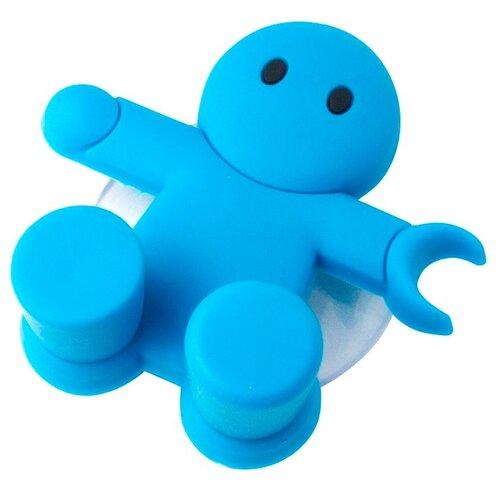 Держатель balvi Amico для зубной щётки синий держатель для зубной пасты и щеток balvi kitty