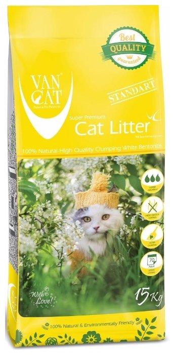 Наполнитель Van Cat Big Cats (15 кг)