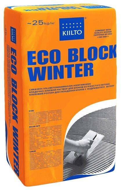 Строительная смесь KIILTO Eco Block Winter