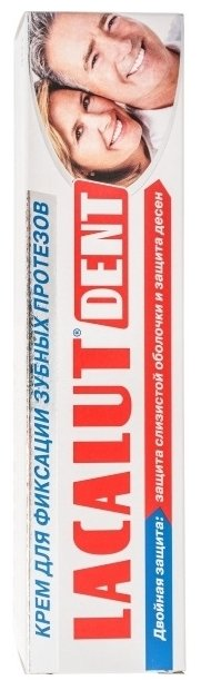 Lacalut крем для фиксации зубных протезов Dent 40 мл