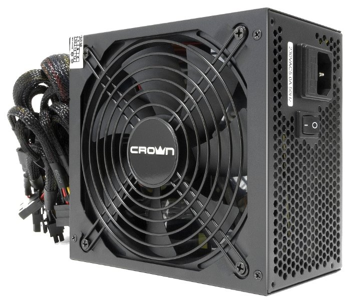 Блок питания CROWN CM-PS750W Pro 750W