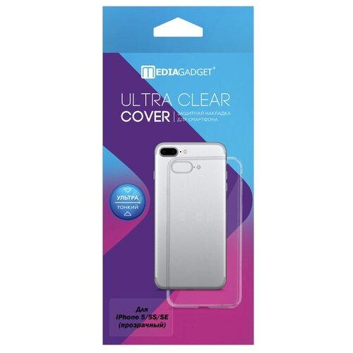 Купить Чехол Media Gadget ESSENTIAL CLEAR COVER для iPhone 5/5S/SE прозрачный