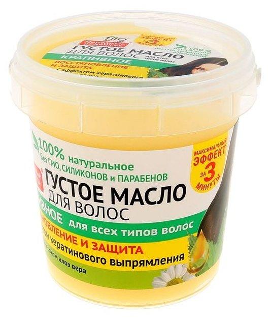 Народные рецепты Густое масло для волос крапивное