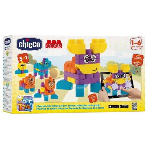 Конструктор Chicco App Toys 60140 Животные на фермеКонструкторы<br>