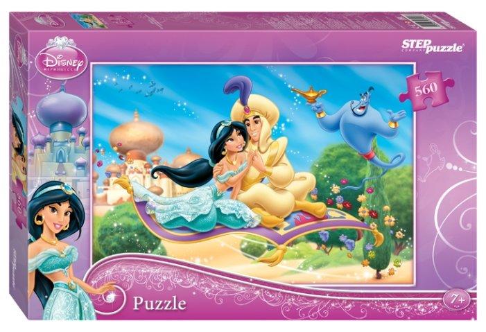 Пазл Step puzzle Disney Жасмин (97024), 560 дет.