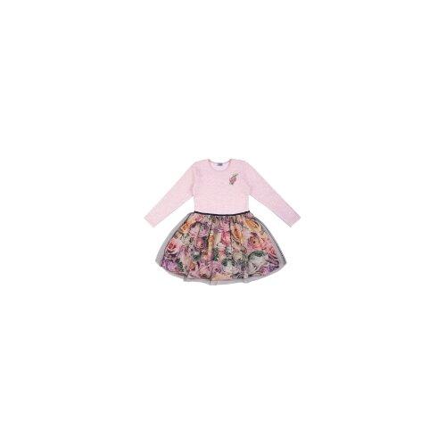 Купить Платье Апрель размер 140-72, розовый/розы 3д, Платья и сарафаны