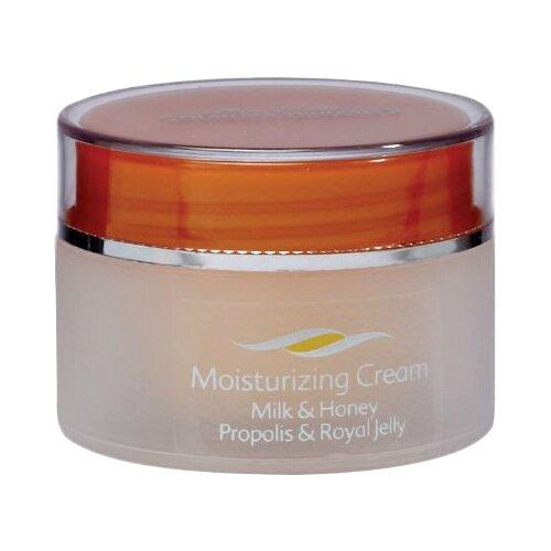 Mon Platin DSM Увлажняющий крем для лица молоко и мед, прополис и пчелиное молочко, 50 мл mon platin dsm минеральный крем от морщин 50 мл