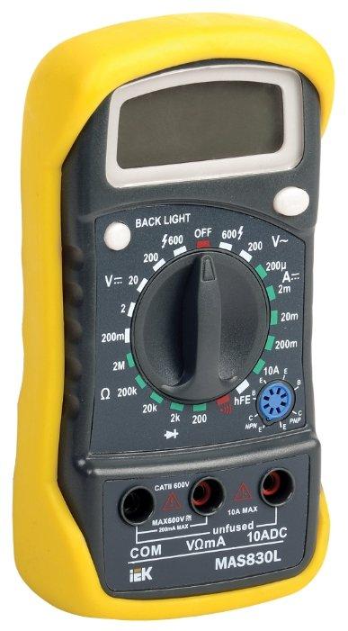 Iek TMD-3L-830 Мультиметр цифровой Master MAS830L IEK