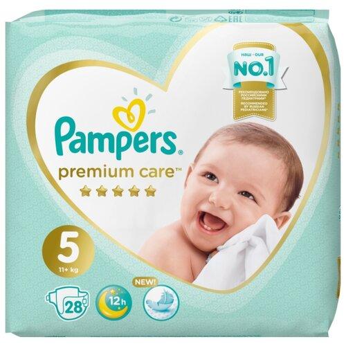 Pampers подгузники Premium Care 5 (11+ кг) 28 шт.