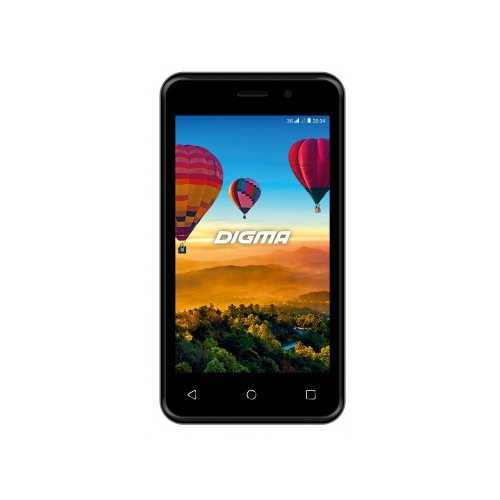 Смартфон Digma LINX ALFA 3G черныйМобильные телефоны<br>
