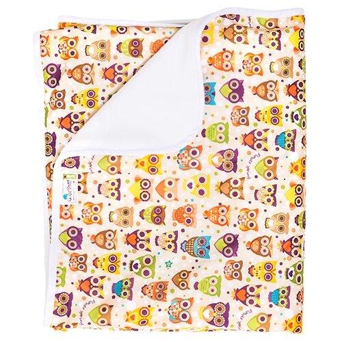 Купить Многоразовые пеленки GlorYes! впитывающая 100х120 совы, Пеленки, клеенки