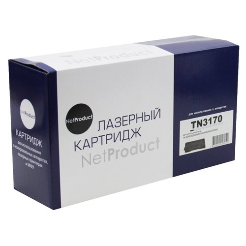 Фото - Картридж Net Product N-TN-3170, совместимый картридж net product n tn 3380 совместимый
