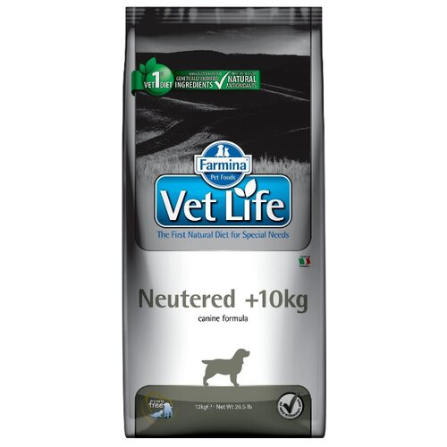 Корм для собак Farmina Vet Life Canine Neutered +10kg (12 кг)Корма для собак<br>