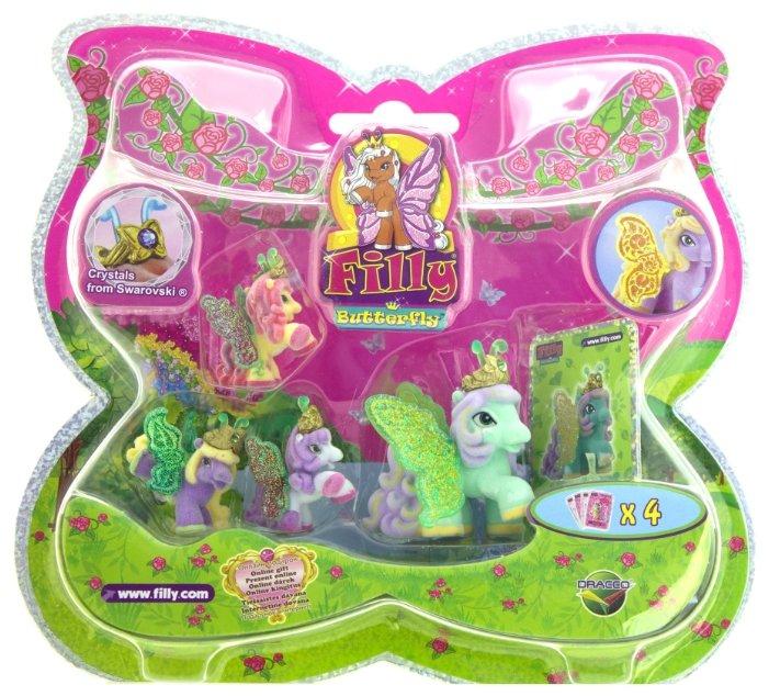Игровой набор Filly Butterfly Glitter Момо M770041-3850