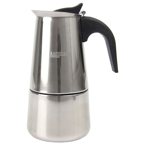 Кофеварка Rainstahl 8800-04RS\CM (4 чашки) стальнойТурки, кофеварки, кофемолки<br>