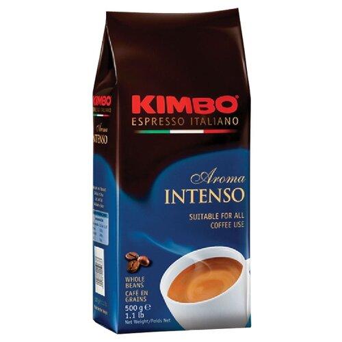 Кофе в зернах Kimbo Aroma Intenso, 500 г кофе в зернах kimbo aroma intenso 1 кг