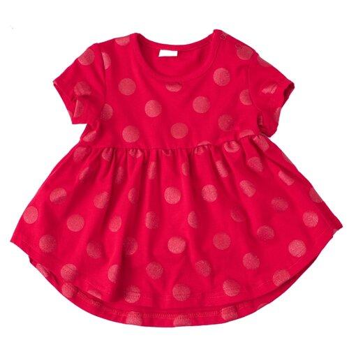 Платье playToday размер 74, красный