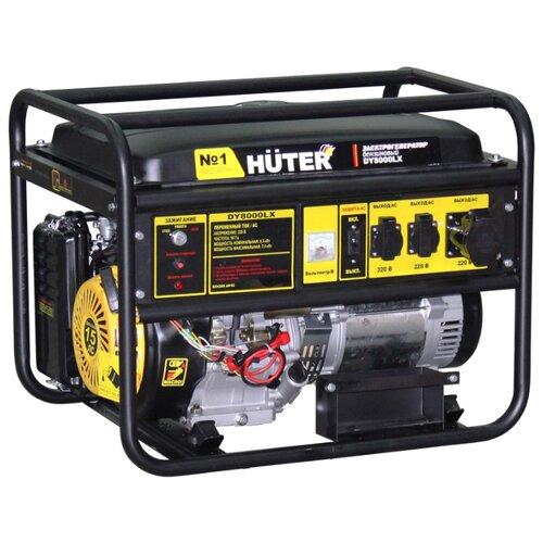 Бензиновый генератор Huter DY8000LX (6500 Вт) генератор huter dy2500l