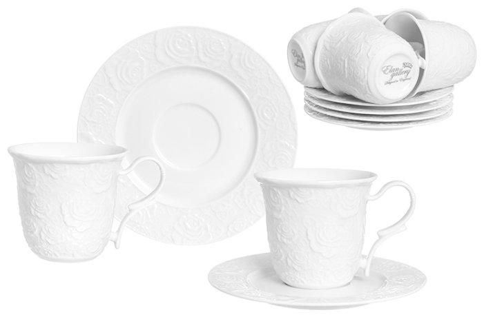 Чайный сервиз Elan gallery Белые розы
