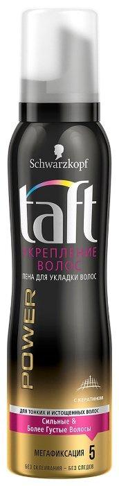 Taft Power пена Укрепление волос мегафиксация
