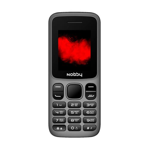 Телефон Nobby 101 серый / черный (NBP-BP-18-13)