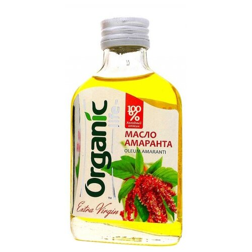 Organic Life Масло амаранта 0.1 л