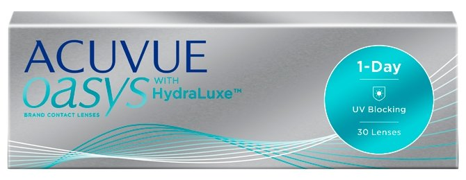 Контактные линзы Johnson & Johnson 1-Day Acuvue Oasys with HydraLuxe (30 линз / 8.5 / -0.75)