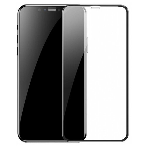 Защитное стекло Baseus Arc-Surface Tempered Glass Film для Apple iPhone Xs Max черный защитное стекло liberty project tempered glass с рамкой для apple iphone xs max черный