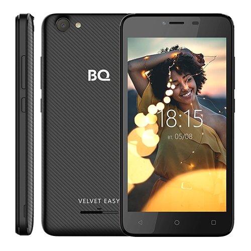 Смартфон BQ 5000G Velvet Easy черный смартфон