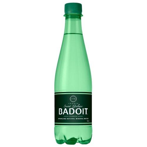 Вода минеральная Badoit газированная, ПЭТ, 0.5 лВода<br>