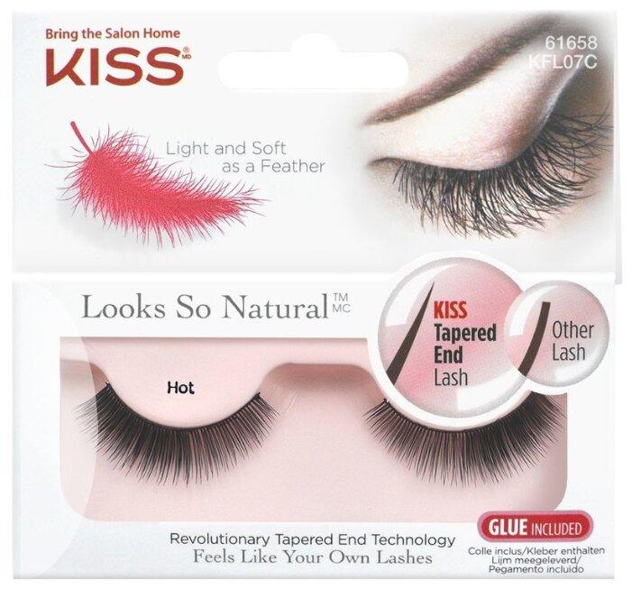Kiss накладные ресницы Looks so Natural Hot
