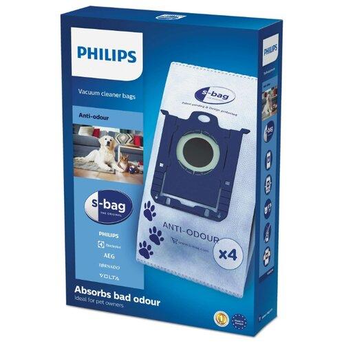Philips FC8023/04 Мешки S-bag Anti-Odour 4 шт.