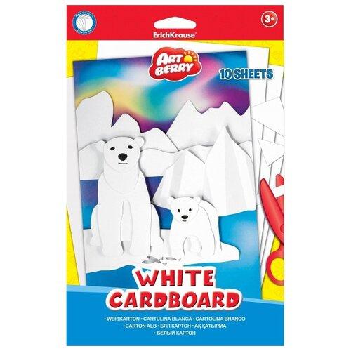 Белый картон ArtBerry, B5, 10 л.
