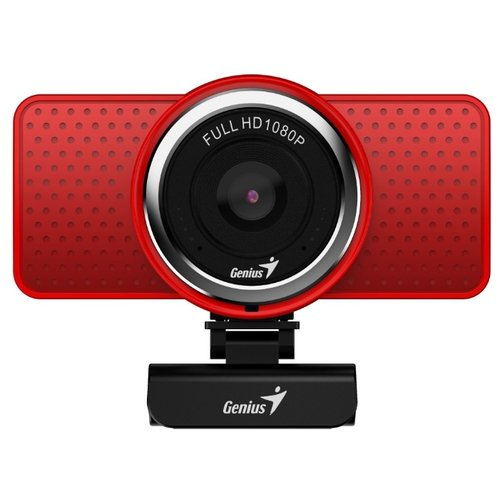 Веб-камера Genius ECam 8000 красный