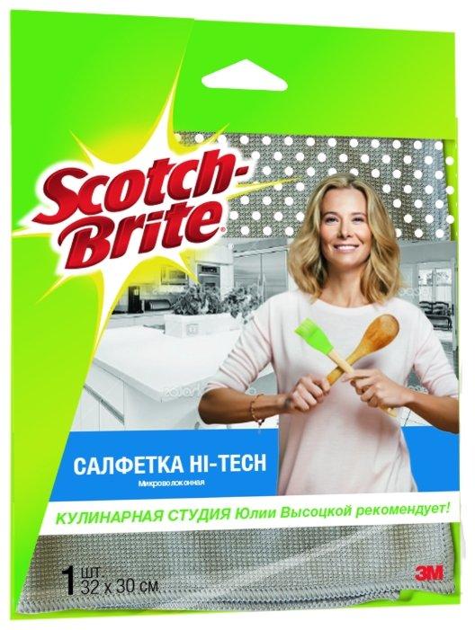 Салфетка микроволоконная Scotch-Brite