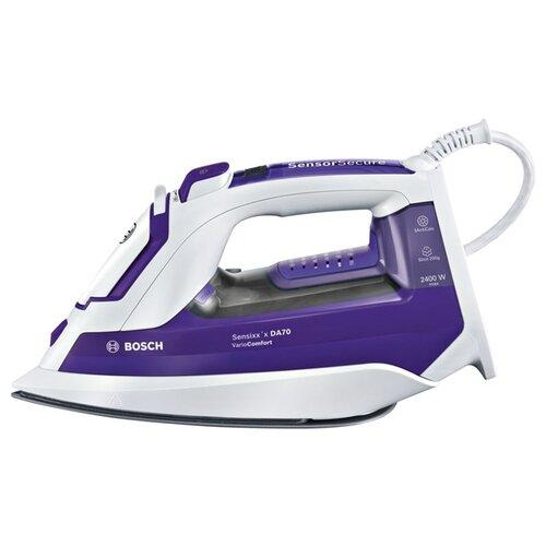 Фото - Утюг Bosch TDA 752422V темно-фиолетовый/белый утюг bosch tda5028020 2800вт белый фиолетовый