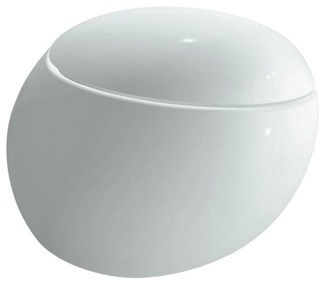 Чаша унитаза подвесная LAUFEN Alessi One 8.2097.1.400.000.1 с горизонтальным выпуском